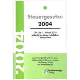 Steuergesetze 2004